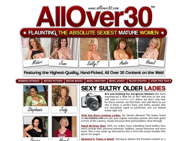 All Over 30 Original With Visa