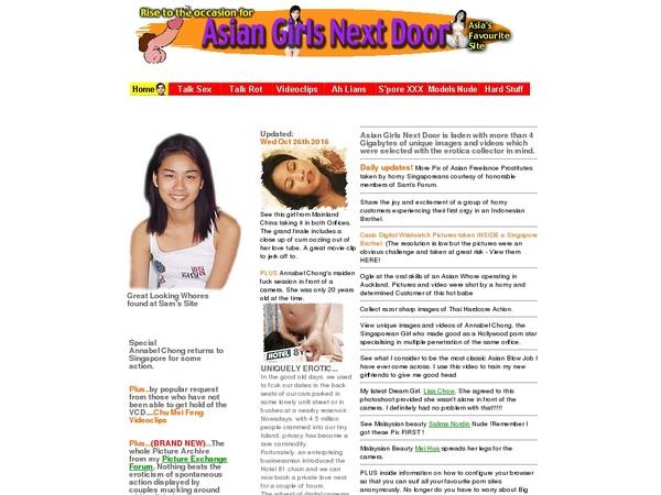 Asian Girls Next Door User Name