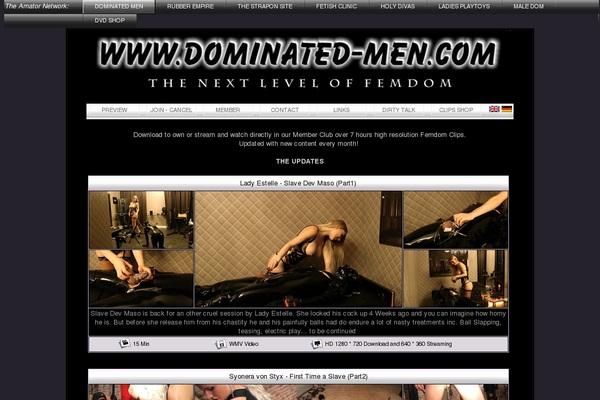 Become Dominatet Men Member