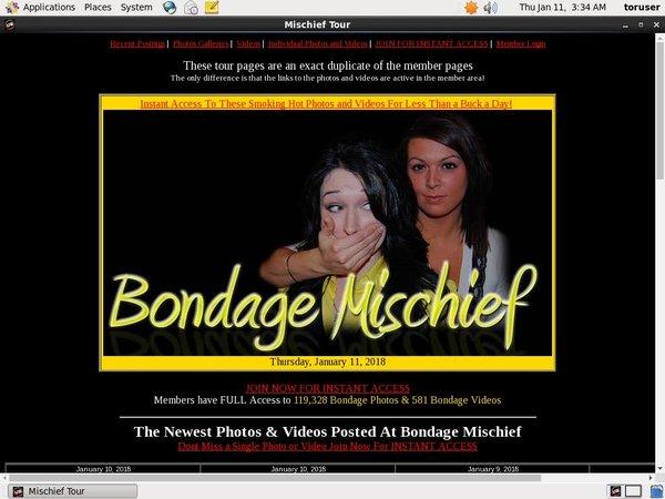 Bondage Mischief Picture
