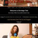 Bondagetied Sign Up Page