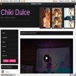 Chiki Dulce Signup Page