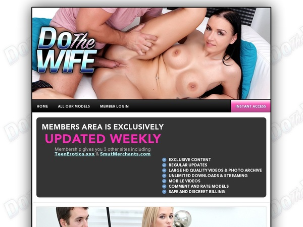Dothewife.com Sign In