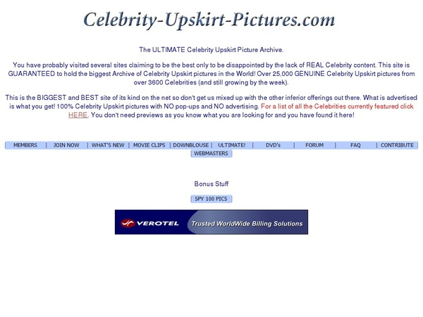 Free Accounts To Celebrity-upskirt-pictures.com
