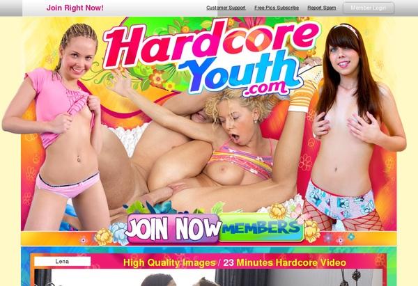 Hardcoreyouth.com Girl