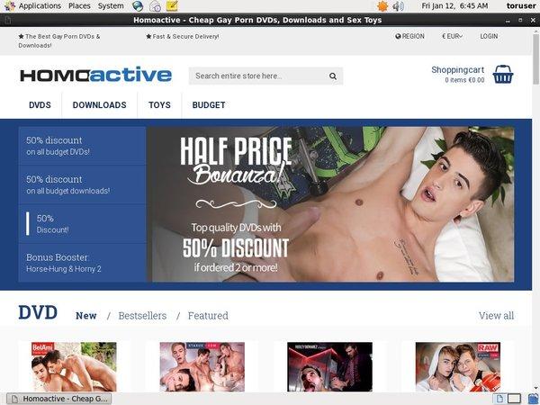 Homoactive Downloads Members