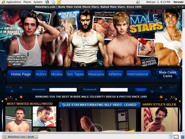 Male Stars Netcash