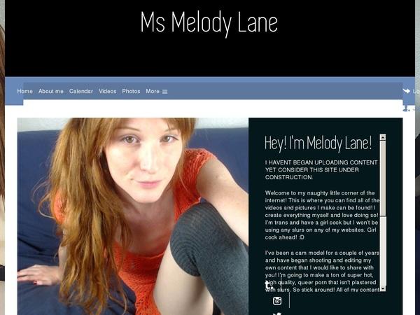 Ms Melody Lane Premium Passwords