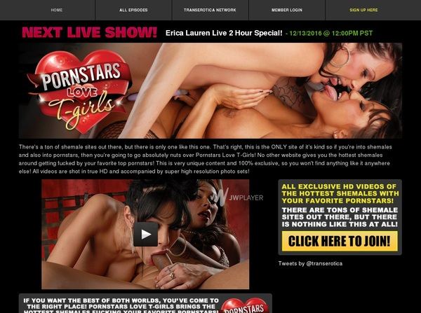 Porn Stars Love T-Girls User And Password