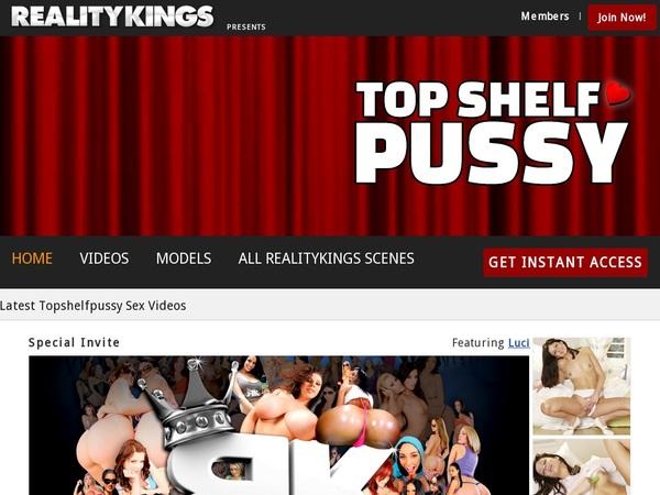Premium Top Shelf Pussy Password