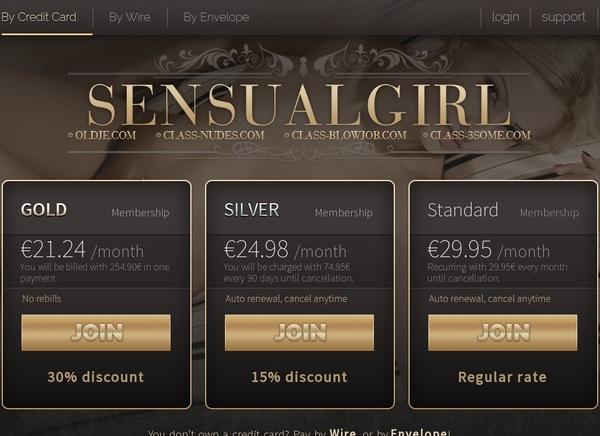 Sensualgirl Password Share
