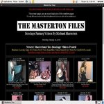 Sign Up For The Masterton Files