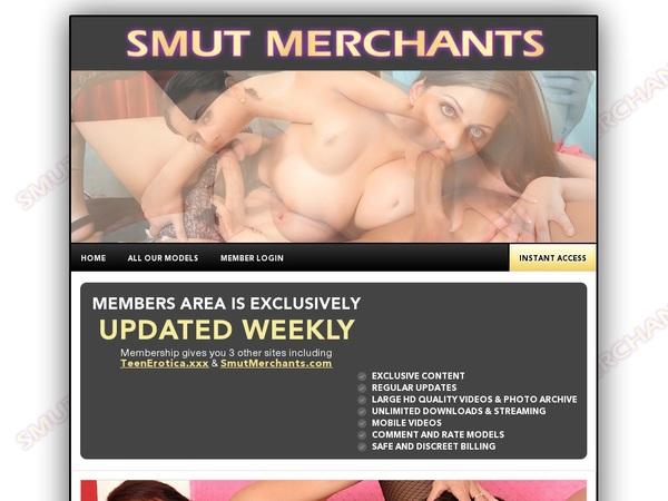 Smut Merchants Mobile Login Codes