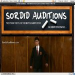 Sordidauditions.com 로그인