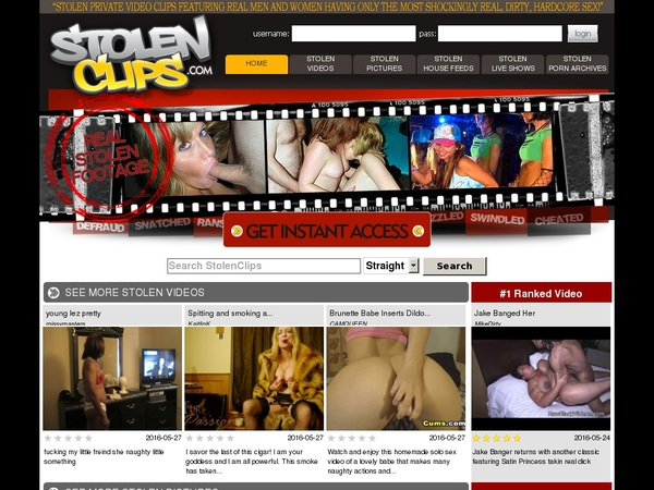 Stolenclips Free Video