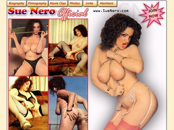 Sue Nero Account New