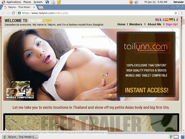 Tailynn.com Promo Code