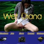 Wet Diana With Bank Pay