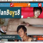 Asian Boy 18 With Maestro Card