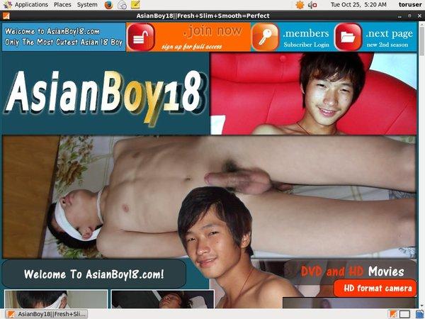 Asian Boy 18 With Maestro Card