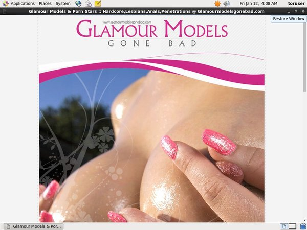 Glamourmodelsgonebad.com Accounts Password