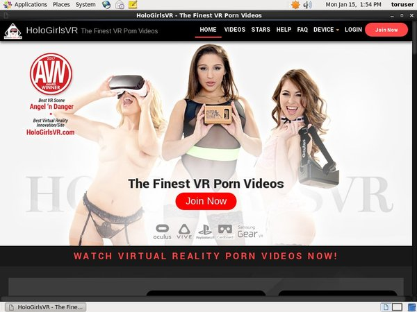 HoloGirlsVR Join By Check