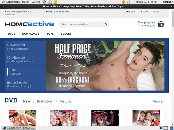Homoactive.com Login Passwords