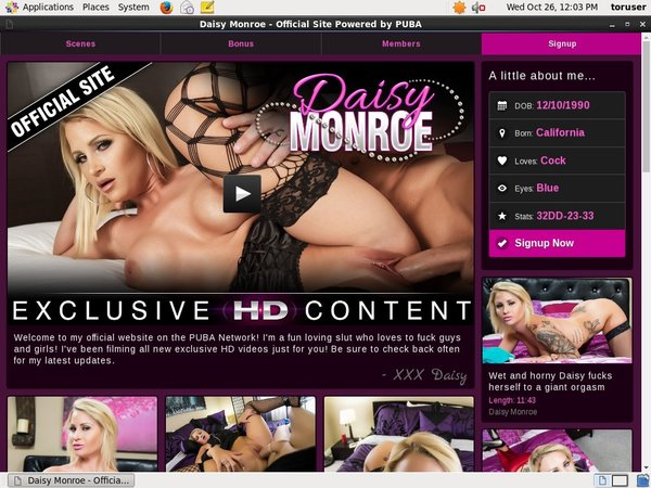 Thedaisymonroe Paysite