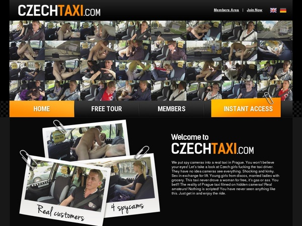 Czech Taxi New Accounts