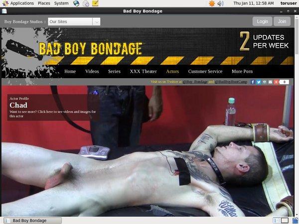 Badboybondage.com Mit IBAN / SEPA