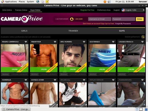 Premium Accounts Camera Prive Gay