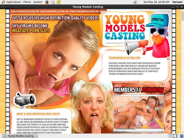 Youngmodelscasting Accounts Working