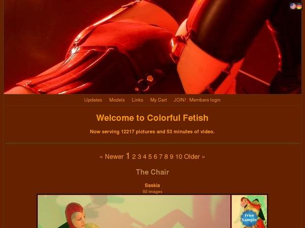 Colorful Fetish GXBill