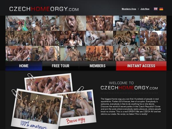 Czech Home Orgy Real Passwords