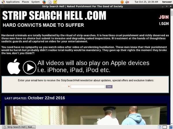 Full Strip Search Hell Videos