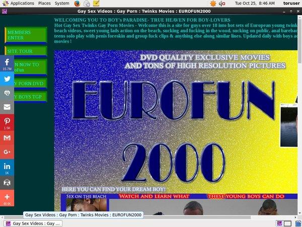 Eurofun 2000 Check Out