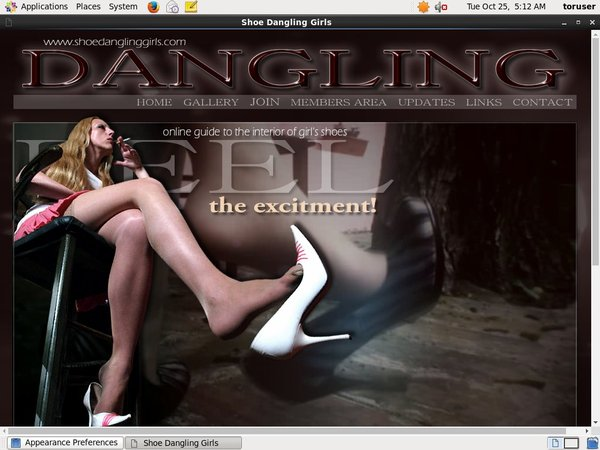 Get Free Shoe Dangling Girls Passwords