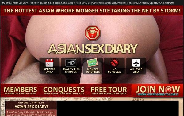 Free Accounts On Asiansexdiary.com