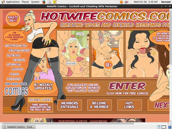 Hotwife Comics Gift Card