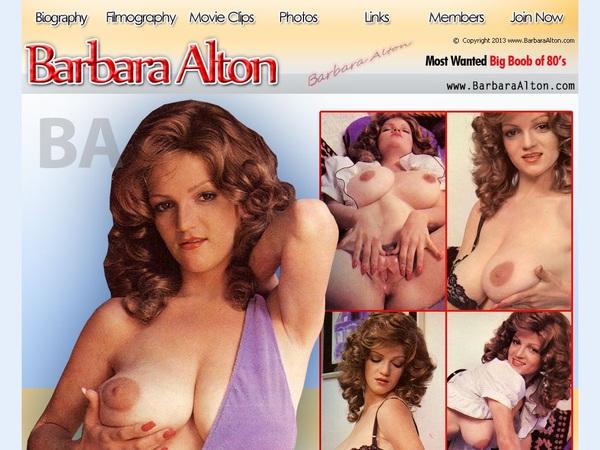 Barbara Alton With Bank Pay