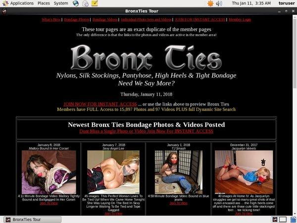 Bronx Ties Sale