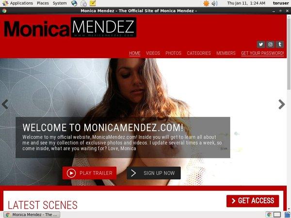 Free Monica Mendez Account Password