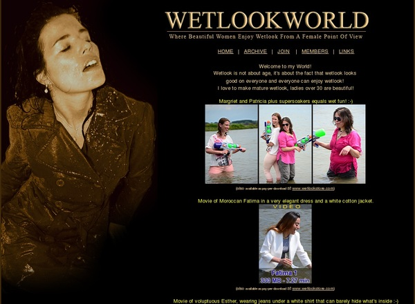 Wet Look World Porn Passwords