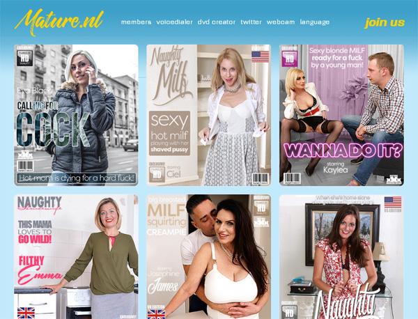 MatureNL Full Website