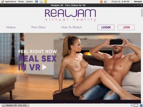 Real Jam VR Password Dump