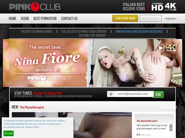 PinkO Club Xxx Password