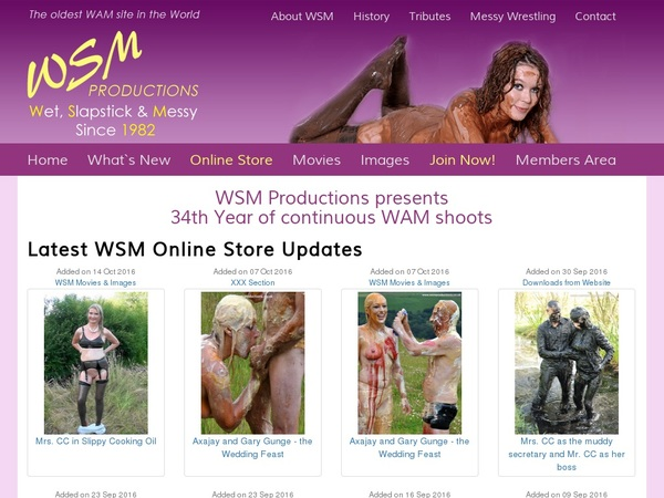 WSM Productions With Direct Debit